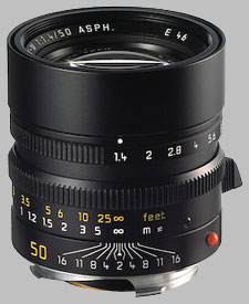 image of the Leica 50mm f/1.4 Summilux-M Asph. lens
