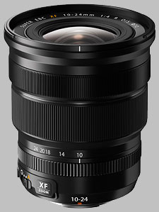 image of the Fujinon XF 10-24mm f/4 R OIS lens