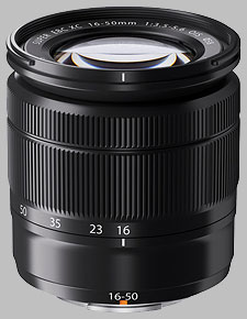 image of the Fujinon XC 16-50mm f/3.5-5.6 OIS lens