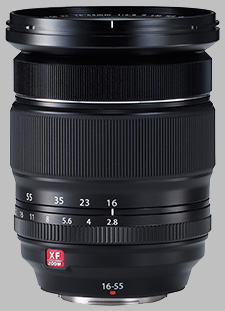 image of the Fujinon XF 16-55mm f/2.8 R LM WR lens