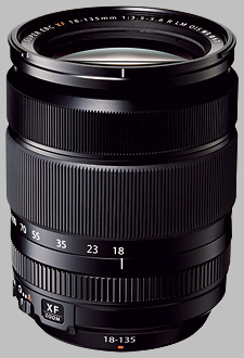 image of the Fujinon XF 18-135mm f/3.5-5.6 R LM OIS WR lens