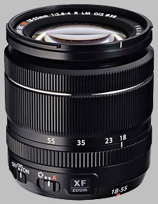 image of the Fujinon XF 18-55mm f/2.8-4 R LM OIS lens