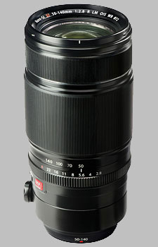 image of the Fujinon XF 50-140mm f/2.8 R LM OIS WR lens