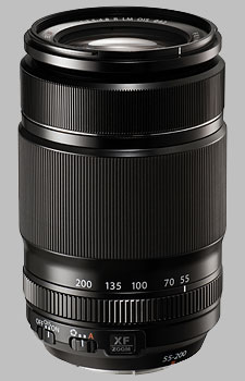 image of the Fujinon XF 55-200mm f/3.5-4.8 R LM OIS lens