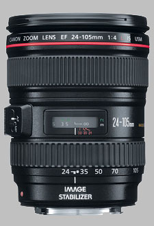 image of the Canon EF 24-105mm f/4L IS USM lens