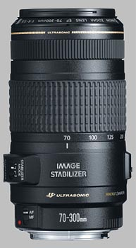 image of the Canon EF 70-300mm f/4-5.6 IS USM lens