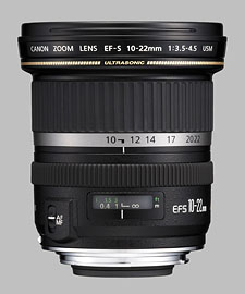 image of the Canon EF-S 10-22mm f/3.5-4.5 USM lens