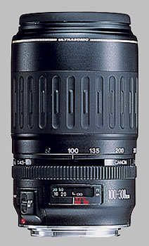 image of the Canon EF 100-300mm f/4.5-5.6 USM lens