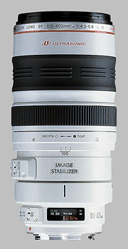 image of the Canon EF 100-400mm f/4.5-5.6L IS USM lens