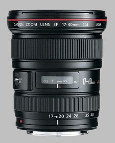 image of the Canon EF 17-40mm f/4L USM lens