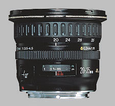 image of the Canon EF 20-35mm f/3.5-4.5 USM lens