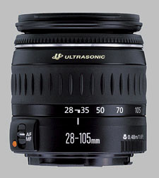 image of the Canon EF 28-105mm f/4-5.6 USM lens