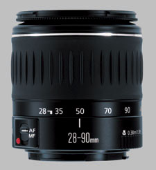 image of the Canon EF 28-90mm f/4-5.6 III lens