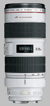 image of the Canon EF 70-200mm f/2.8L IS USM lens