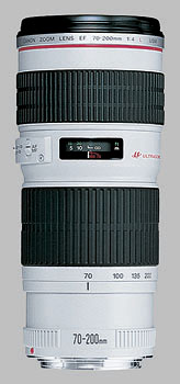 image of the Canon EF 70-200mm f/4L USM lens