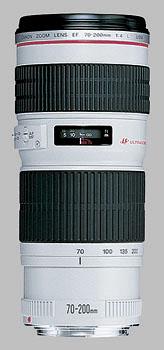 image of the Canon EF 70-200mm f/4L USM lens