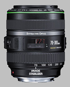 image of the Canon EF 70-300mm f/4.5-5.6 DO IS USM lens