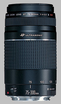 image of the Canon EF 75-300mm f/4-5.6 III USM lens
