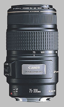image of the Canon EF 75-300mm f/4-5.6 IS USM lens