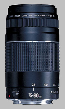 image of the Canon EF 75-300mm f/4-5.6 III lens