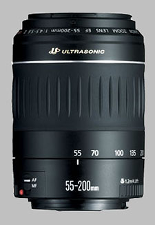 image of the Canon EF 55-200mm f/4.5-5.6 II USM lens
