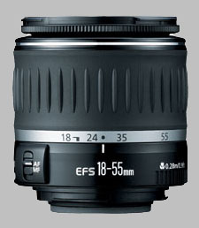 image of the Canon EF-S 18-55mm f/3.5-5.6 USM lens