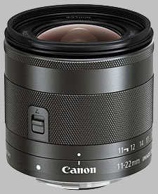 image of Canon EF-M 11-22mm f/4-5.6 IS STM