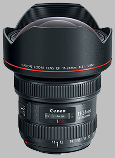 image of the Canon EF 11-24mm f/4L USM lens