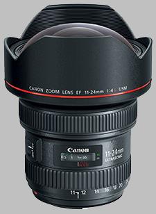 image of the Canon EF 11-24mm f/4L USM lens