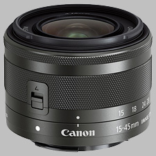 image of the Canon EF-M 15-45mm f/3.5-6.3 IS STM lens