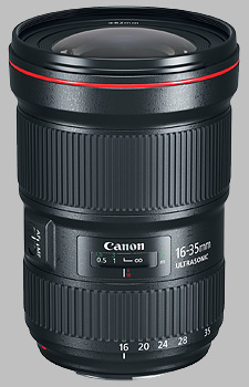 image of the Canon EF 16-35mm f/2.8L III USM lens