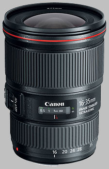 image of the Canon EF 16-35mm f/4L IS USM lens