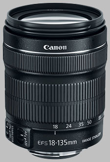 image of the Canon EF-S 18-135mm f/3.5-5.6 IS STM lens