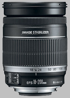 image of the Canon EF-S 18-200mm f/3.5-5.6 IS lens