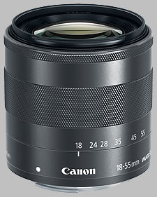 image of the Canon EF-M 18-55mm f/3.5-5.6 IS STM lens