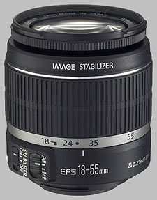 image of the Canon EF-S 18-55mm f/3.5-5.6 IS lens