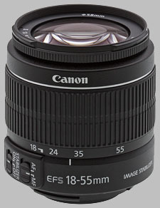 image of the Canon EF-S 18-55mm f/3.5-5.6 IS II lens