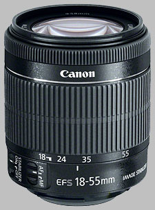 image of the Canon EF-S 18-55mm f/3.5-5.6 IS STM lens