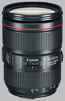 image of the Canon EF 24-105mm f/4L IS II USM lens