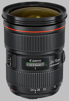 image of the Canon EF 24-70mm f/2.8L II USM lens