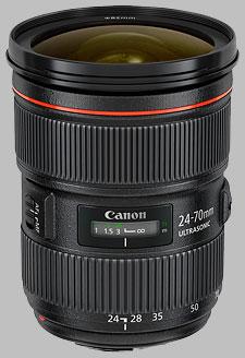 image of the Canon EF 24-70mm f/2.8L II USM lens