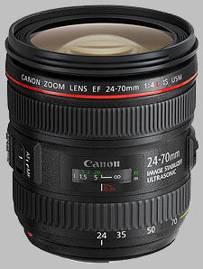 image of the Canon EF 24-70mm f/4L IS USM lens