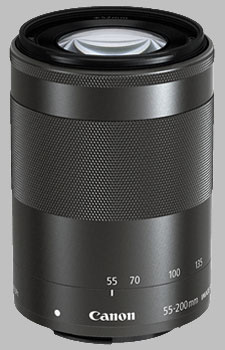image of the Canon EF-M 55-200mm f/4.5-6.3 IS STM lens