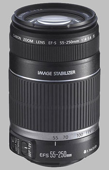 image of the Canon EF-S 55-250mm f/4-5.6 IS lens