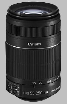 image of the Canon EF-S 55-250mm f/4-5.6 IS II lens