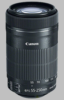 image of the Canon EF-S 55-250mm f/4-5.6 IS STM lens