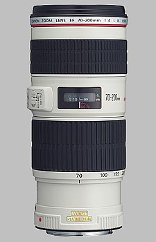 image of the Canon EF 70-200mm f/4L IS USM lens