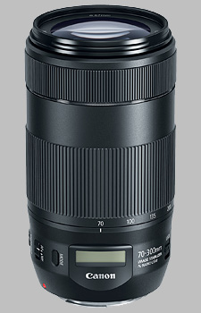image of the Canon EF 70-300mm f/4-5.6 IS II USM lens