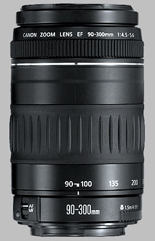 image of the Canon EF 90-300mm f/4.5-5.6 lens