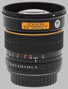 image of Samyang/Rokinon 85mm f/1.4 AS IF UMC